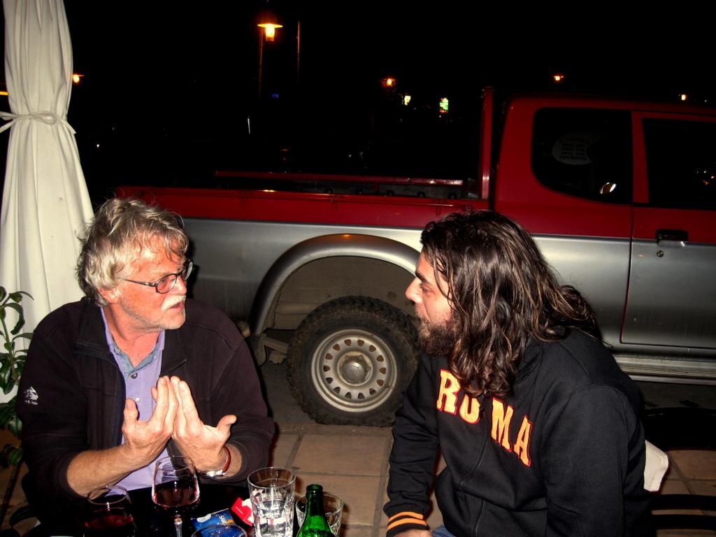 1-074 Late night philosophy with Aris Orfanidis