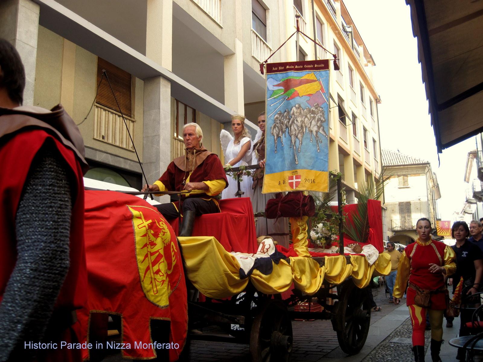 Historical Parade in Nizza Monferato
